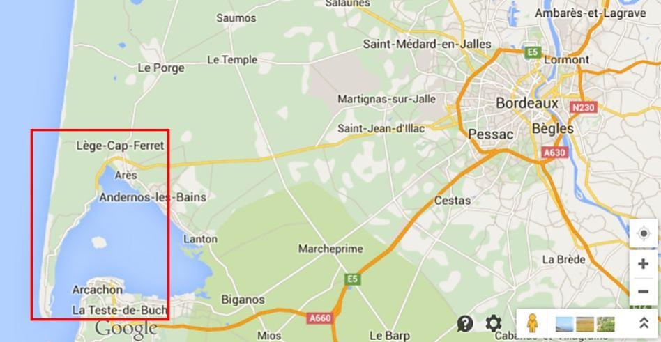 Map Lege-Cap Ferret