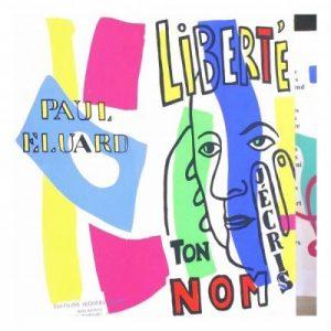 Illustration of Paul Eluard by Fernand Léger (1953)