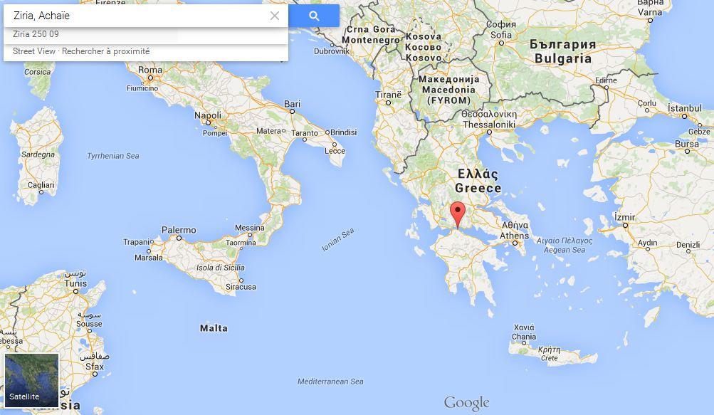 Données cartographiques © Google, 2015