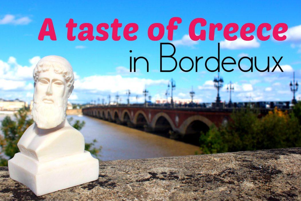 Greece in Bordeaux