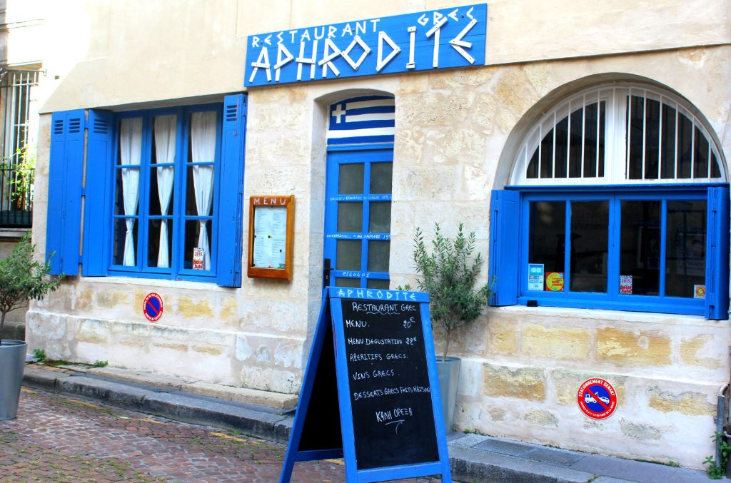 Grece a Bordeaux