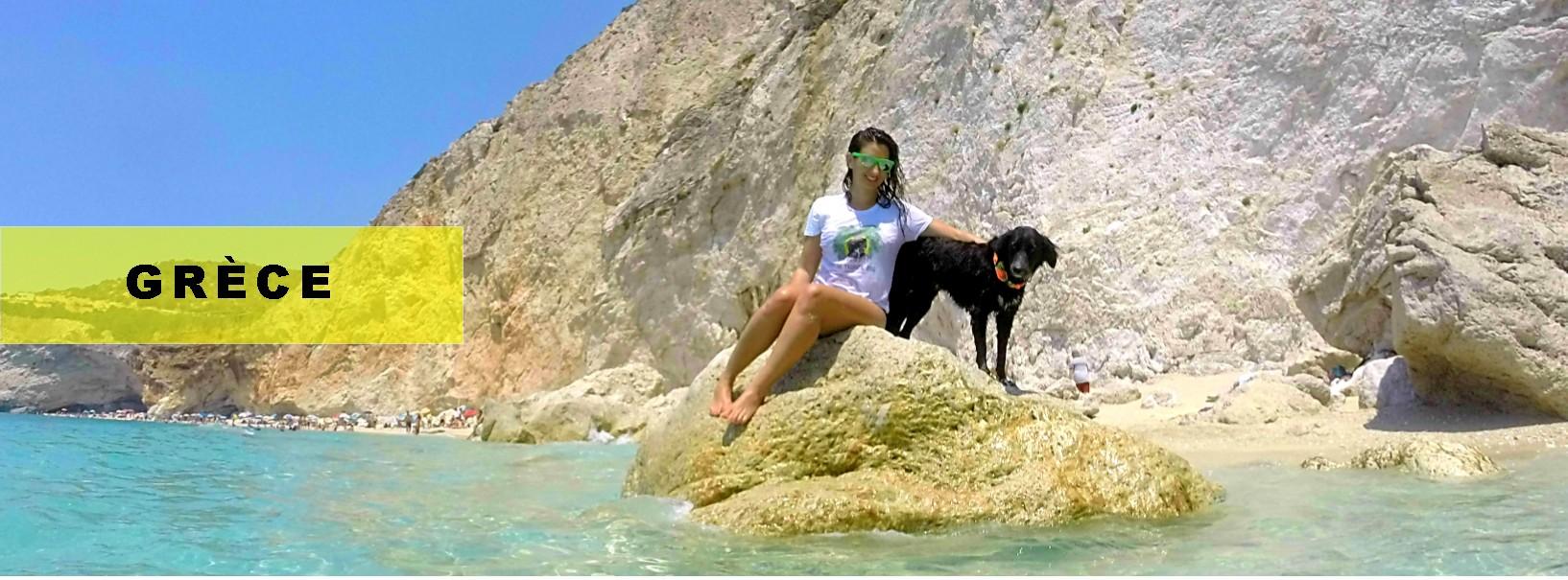 voyager avec un chien en grece