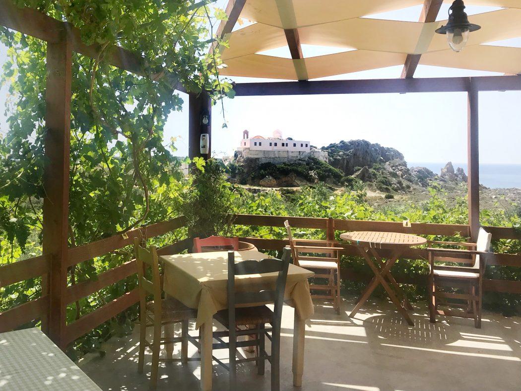 Sunset taverna Elafonissi