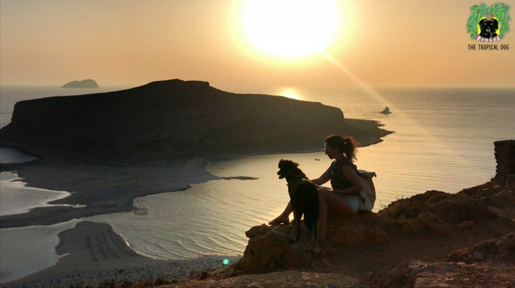 Sunset on Balos beach