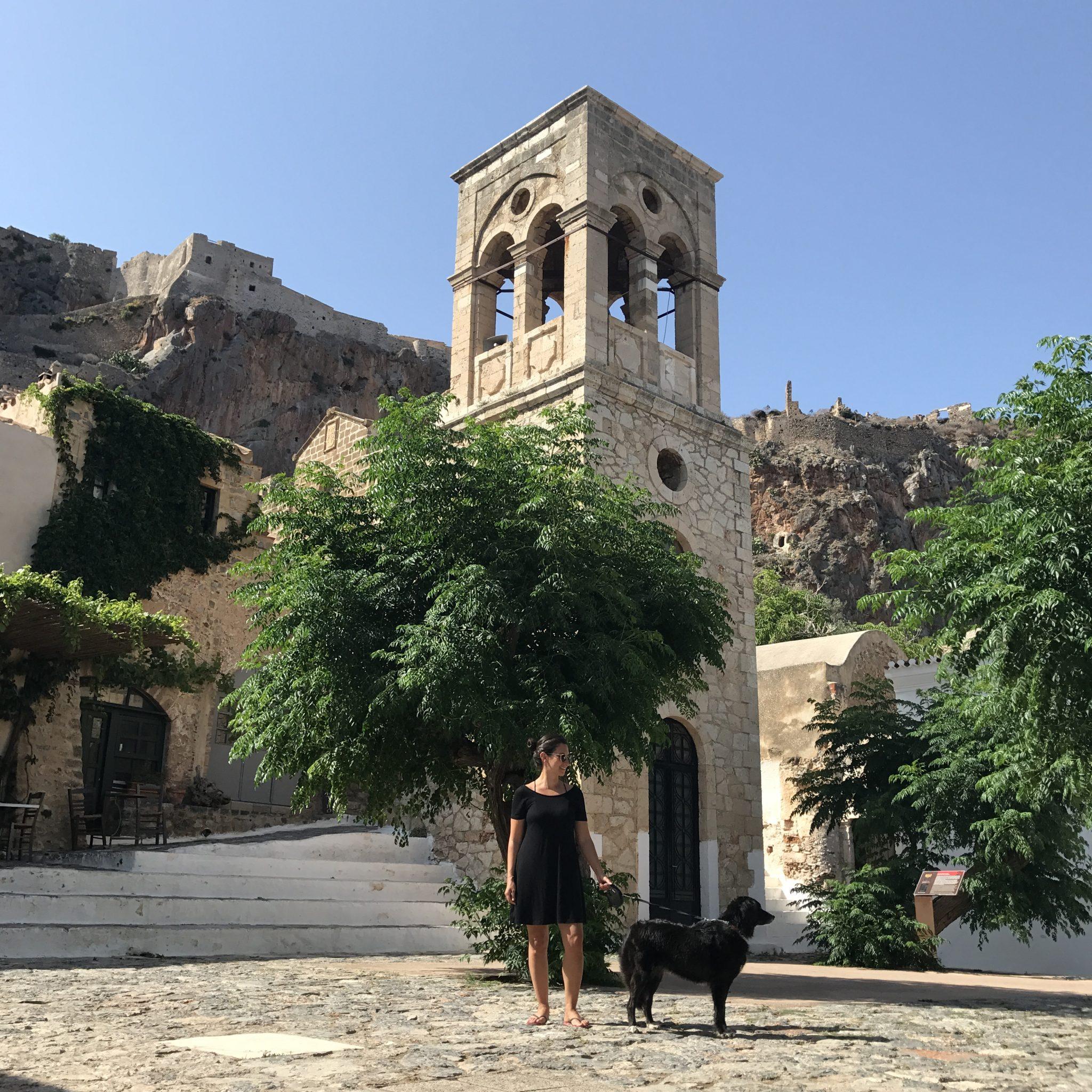 Road trip autour du Péloponnèse avec un chien