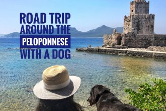 Road trip around the Peloponnese with a dog